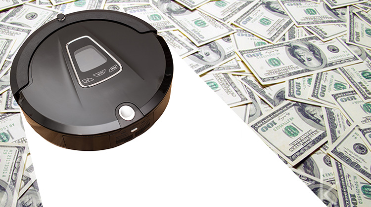 Consolidate bills and win a Roomba too